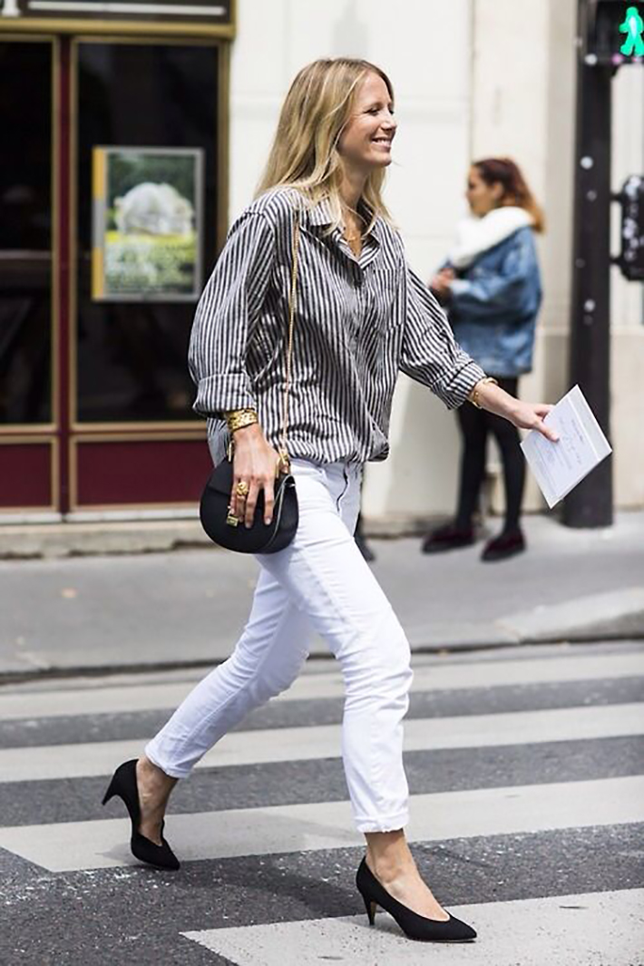 how to wear kitten heels summer 2017 street style outfits fashion trend11