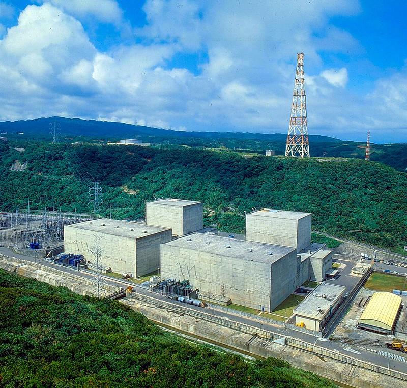 核一廠外觀。台電提供。