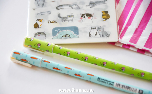 Super cute pens in iHanna's Etsy haul [click over to watch video]