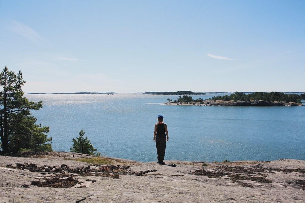 Majoitus Ahvenanmaalla saarella.