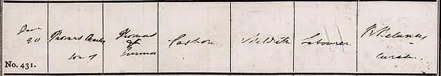 Meldreth baptism 1840