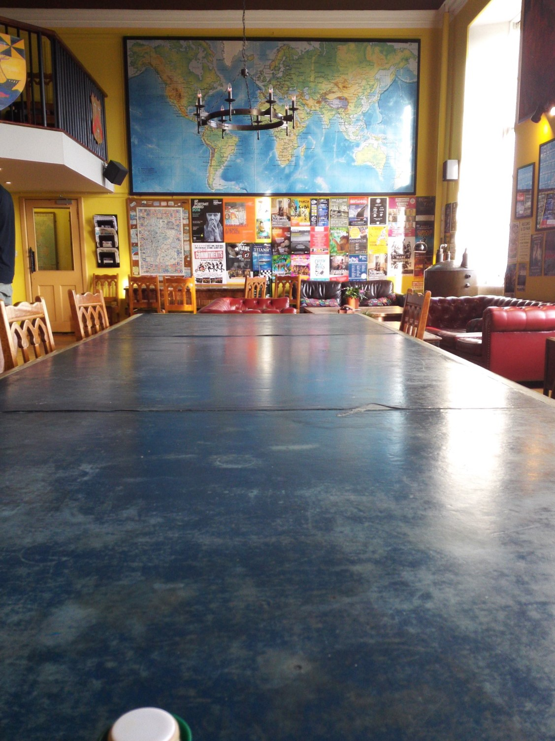 キャッスル・ロック・ホステルの食堂