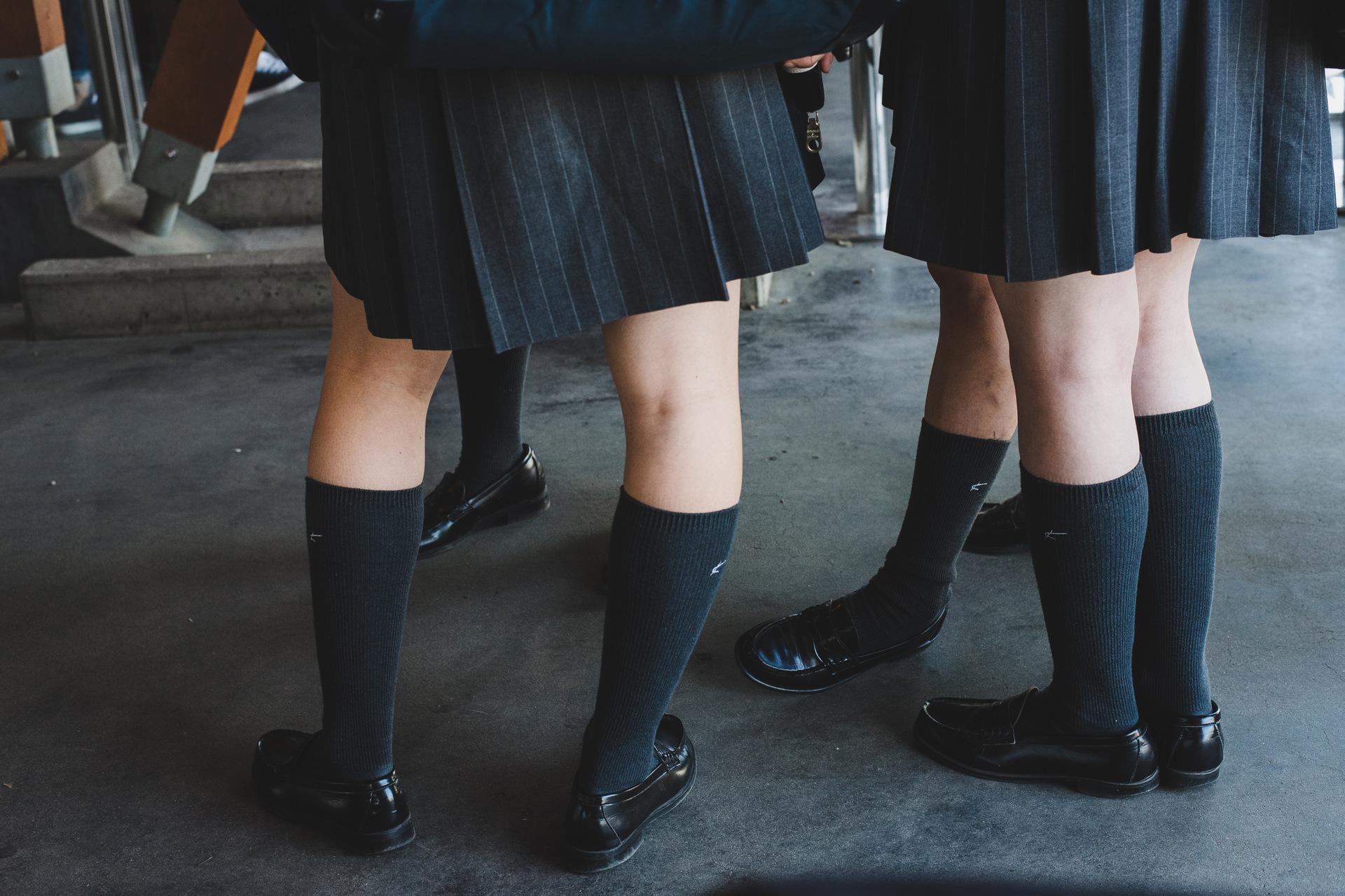uczniowie w japonii
