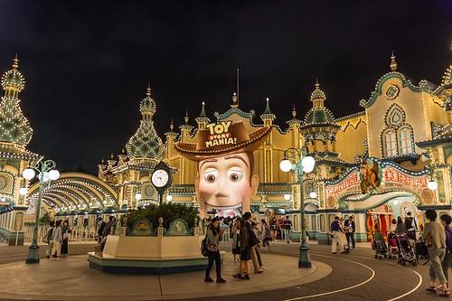 Toy Story Mania Tokyo Disney Sea
