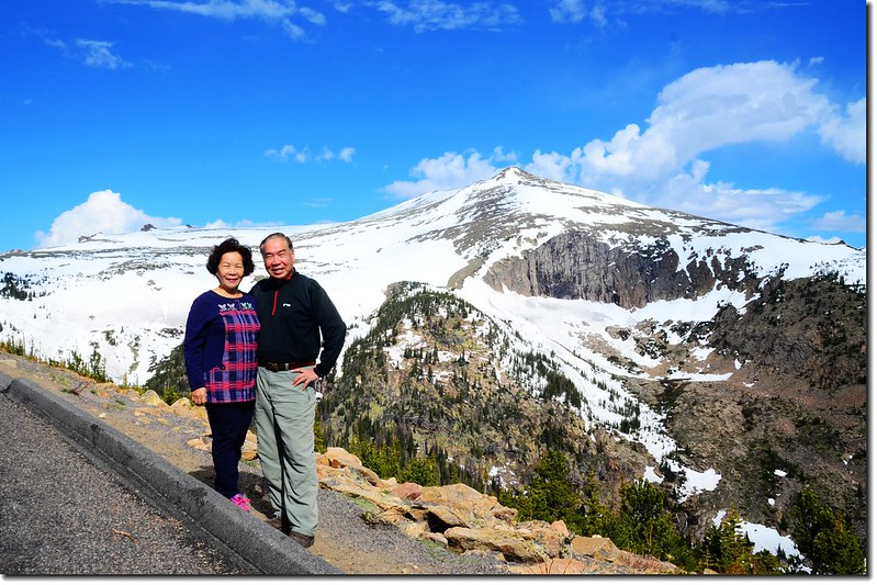Trail Ridge Road, with Sundance Mountain in the Background 3