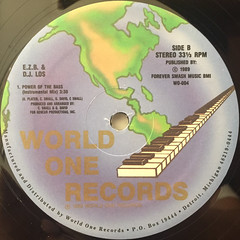 E.Z.B. & D.J. LOS:POWER OF THE BASS(LABEL SIDE-B)