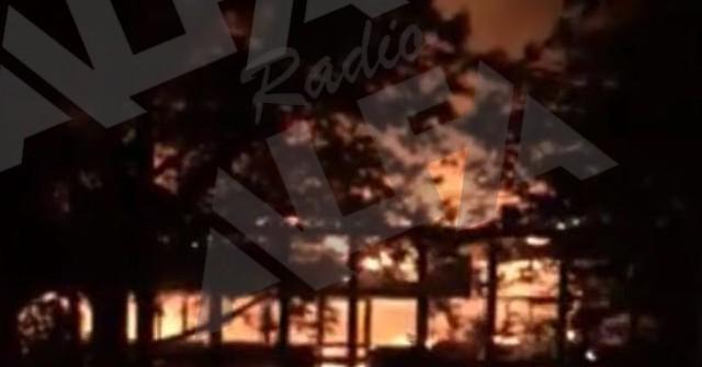 Il Faunus a fuoco