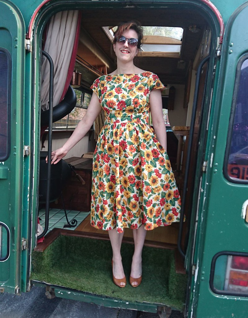 by hand london anna dress by turners cloth