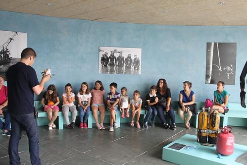 Club infantil de Lectura. Excursión ao Museo do Mar de Galicia.