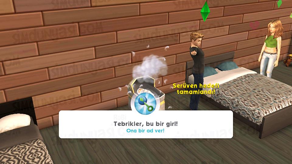 The Sims Mobile - Bebek Yap Serüveni - Bebek Doğdu!