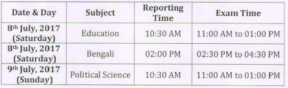 Tripura University Distance Education 2017
