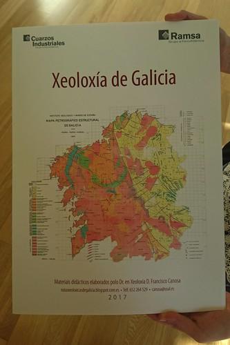 Xeoloxía de Galicia - láminas