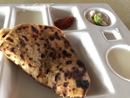 Aloo Paratha / Curd / Pickles
