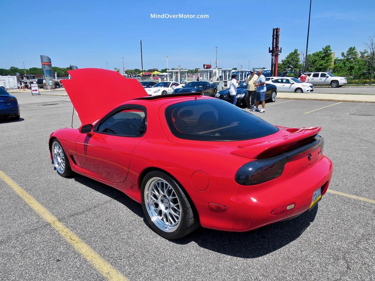 RX-7 Rear