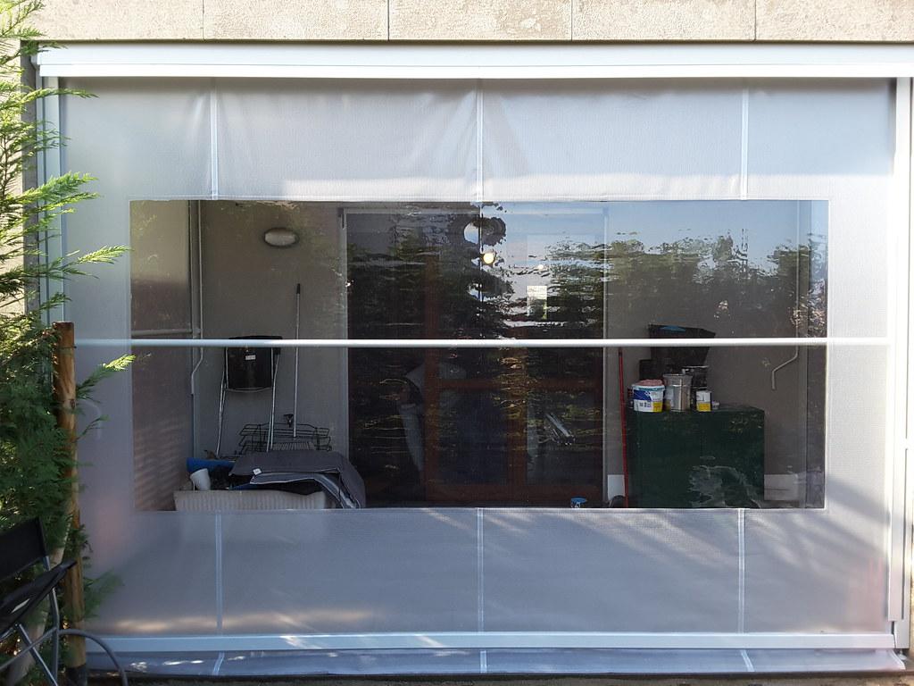 Tende Veranda Trasparenti : Tenda veranda invernale con finestra in cristal trasparentu2026 flickr
