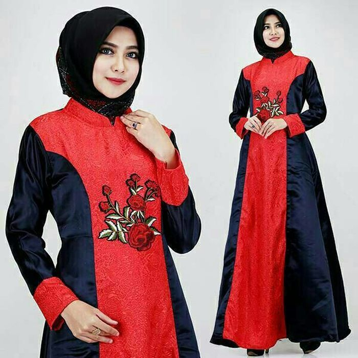Original Glz Gaun Hijab Keisha Jaguar Gamis Bahan Jaguar Flickr