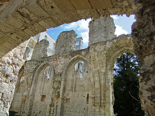 Jumieges Abbey Ruins in France