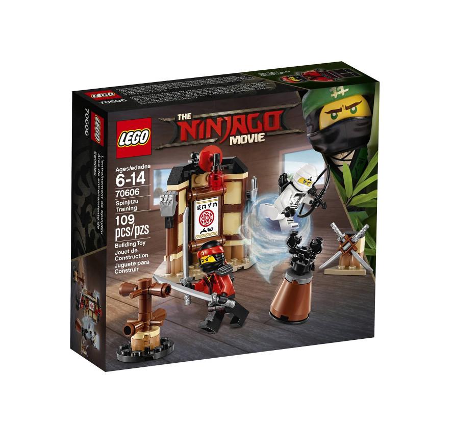 The LEGO Ninjago Movie 70606 - Spinjitzu Training