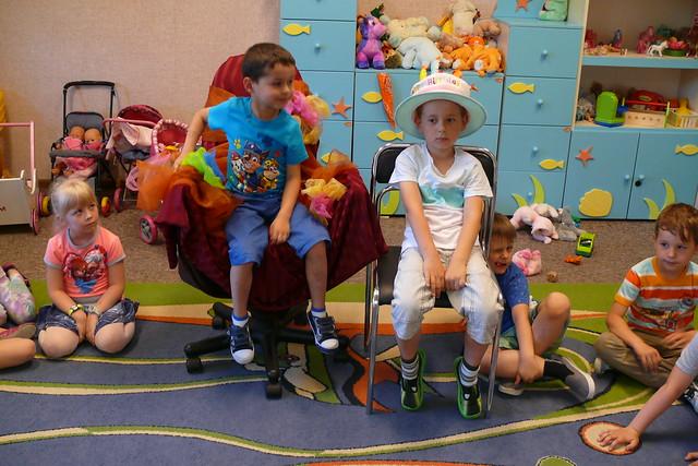 Urodzinki  OLAFA, TOBIASZA i GABRYSIA