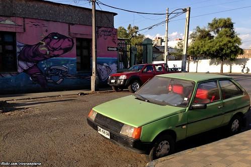 Lada Tavria - Santiago, Chile