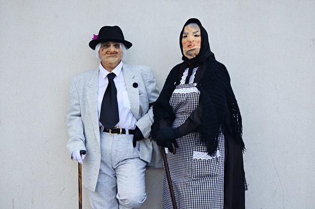 Old Folk, Carnival, Tenerife