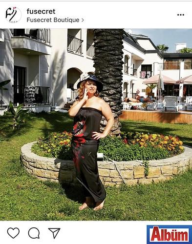 Fü&Secret markasının sahibi Füsun Ateş, sıcak yaz günlerinin başladığı Alanya'da paylaştığı bu fotoğraf ile takipçilerinin beğenisini topladı.