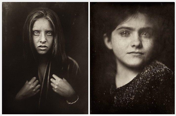 Une photographe utilise une technique vieille de 166 ans pour photographier des enfants et les résultats sont intrigants