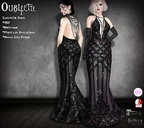 Oubliette- Lucretia Gown