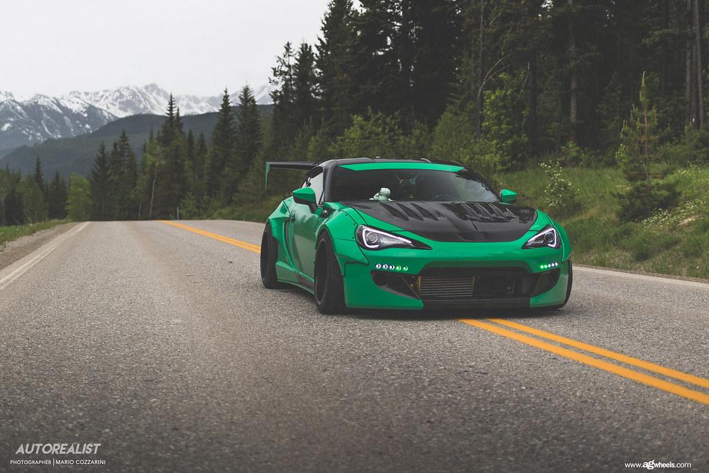 Scion Frs Turbo >> scion-frs-rocket-bunny-v3-f221-custom-green-wheels-3 | Flickr