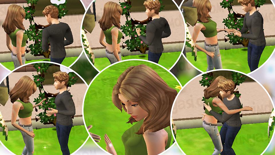 The Sims Mobile Evlenmek - Düğün Serüveni - Sim'ler Evleniyor! Yüzük Takma Merasiminden Kareler