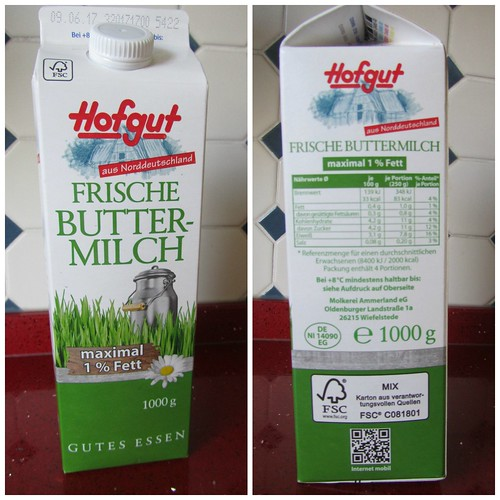 Hofgut frische Buttermilch Collage