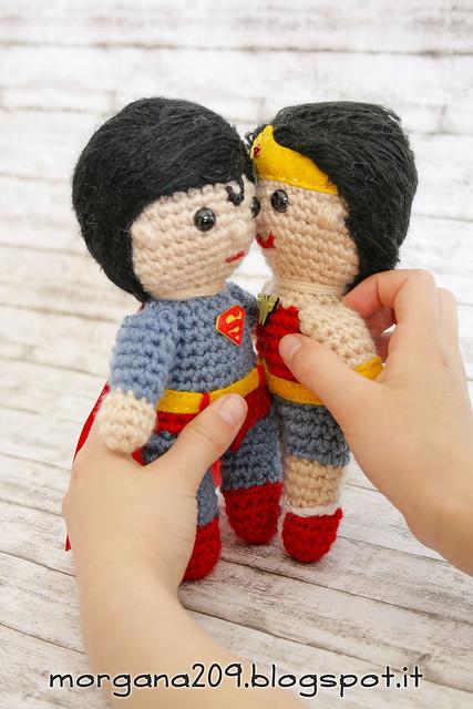 Superman&WonderwomanAmigurumi_14w