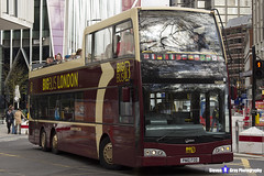 Volvo B9TL Optare Visionaire - PN10 FOD - DA322 - Big Bus London - London 2017 - Steven Gray - IMG_9493