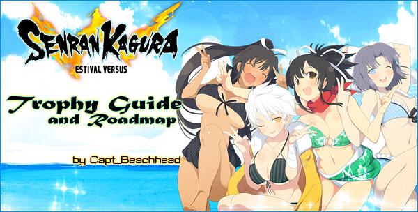 Senran Kagura Estival Versus Trophy Guide And Roadmap