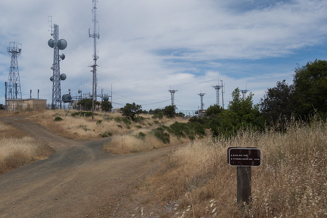 Black Mountain Top Radio Tower