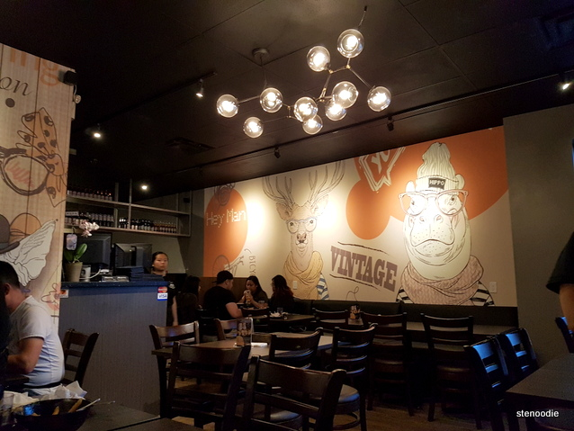 Black Bear Japanese Fusion murals