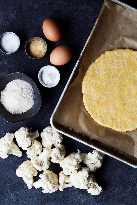 Cauliflower Pizza Crust {Gluten-free, Dairy-free, Paleo}