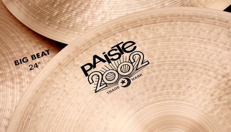 Paiste: 2002 Black Big Beat Cymbals