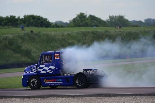 Tony Smith, Sisu SL250 11000, British Truck Racing Championship, Thruxton 2017