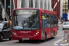 Alexander Dennis Enviro 200 - YX09 HKV - DE49 - White City C1 - London United RATP Group - London 2017 - Steven Gray - IMG_9433