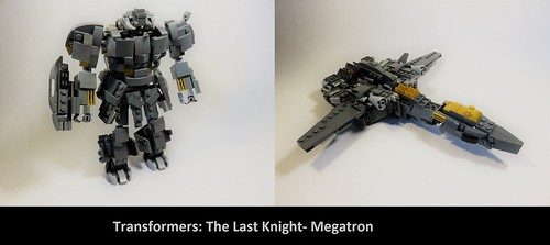 Lego Transformers The Last Knight Megatron