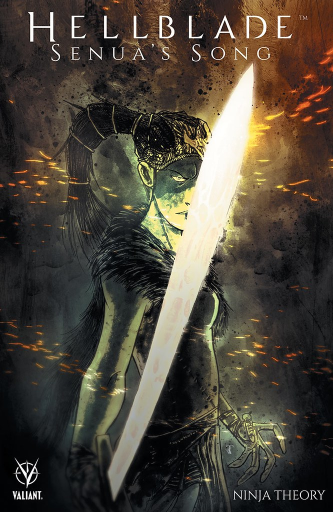 Hellblade Senua je Song Comic Cover