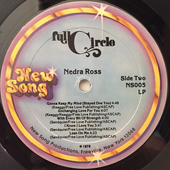 NEDRA ROSS:FULL CIRCLE(LABEL SIDE-B)