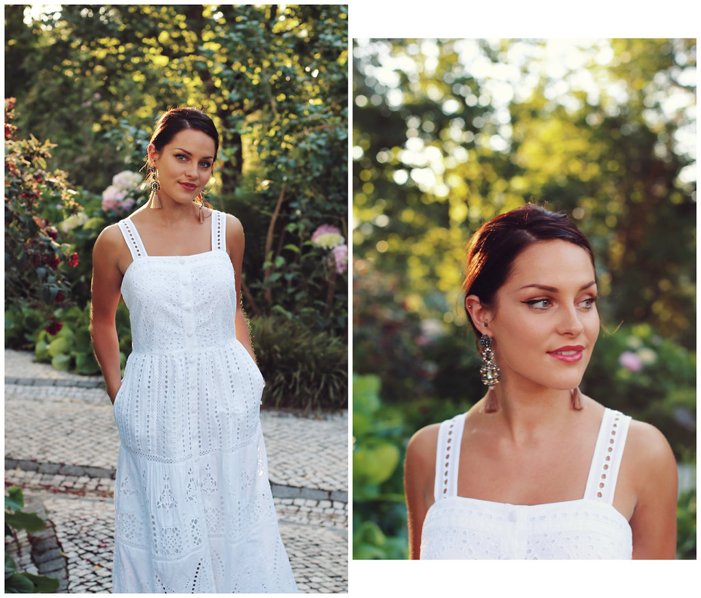 The Little Magpie White Lace Dress Next Lisbon