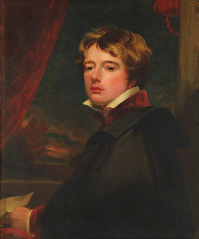 George Henry Harlow - Self-Portrait