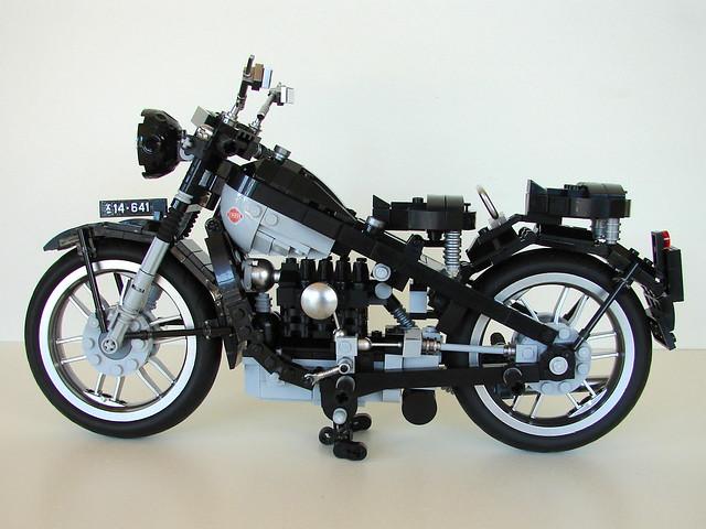 Nimbus motorbike, black D