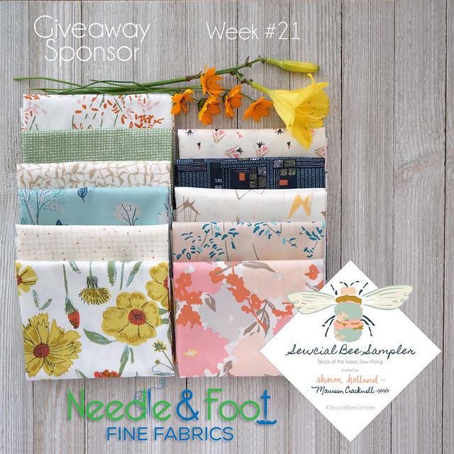 Needle and Foot SBS Giveaway Bundle
