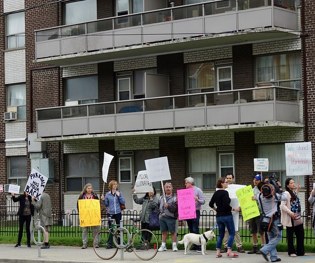 ETT Stands with Parkdale Tenants in Rent Strike