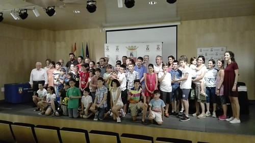 Clausura de la Liga Escolar de Ajedrez