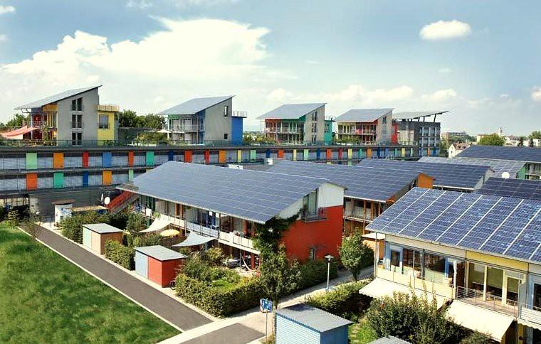 德國弗萊堡社區能源共享計畫。(cc by naturalflow)